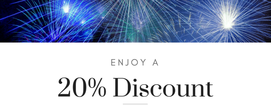 Anniversary Discount!